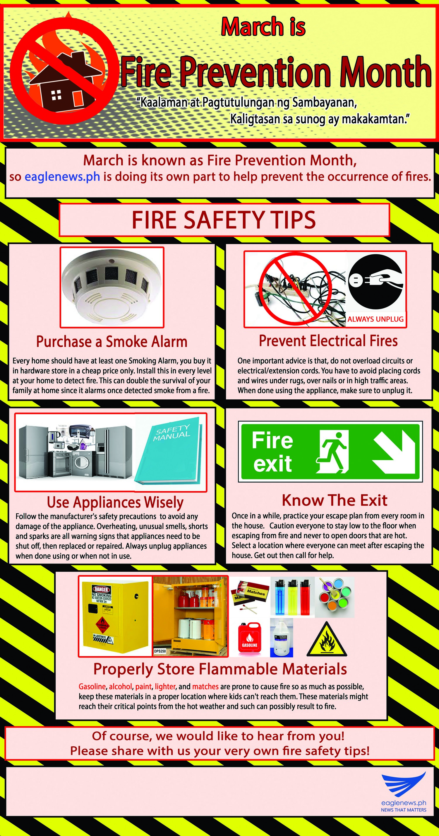 fire prevention essay help Typically, fire prevention method employed by fire service focus on inspection, which includes engineering, code enforcement, public fire safety education, and fire investigations habitually, emergency planning and preparedness has always been a.