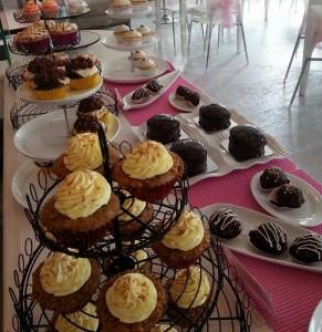 LMCC's best selling cupcake, Black Button