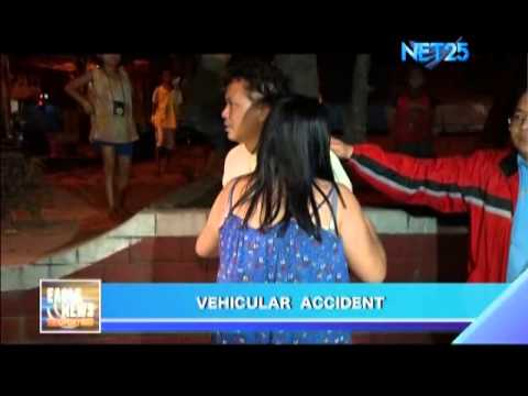 Vehicular Accident in Rizal Ave , Manila