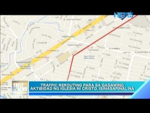 "QC plans traffic re routing for Iglesia Ni Cristo ""Lingap sa Mamamayan"""