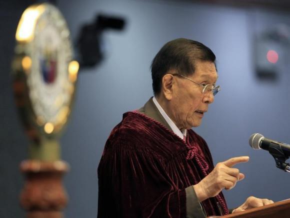 File photo of Senator Juan Ponce Enrile (Reuters)