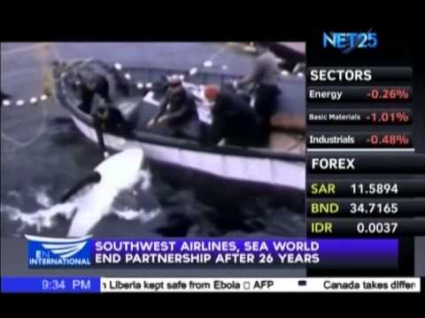 Souhtwest Airlines, Sea World end partnership after 26 years