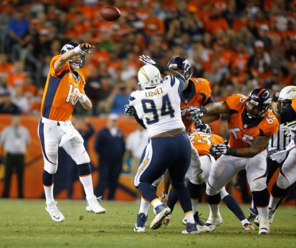 San Diego Chargers Defence: Manning Adds To Touchdown Record As Broncos Beat Chargers