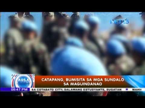 Agila Probinsya – Gen. Catapang, bumisita sa mga sundalo sa Maguindanao