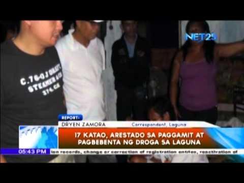 Agila Probinsya – Ilang katao, arestado sa Laguna dahil sa droga