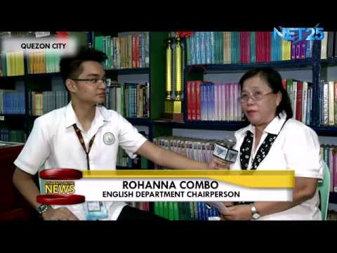 Students on the News – Balara High School celebrates English Month