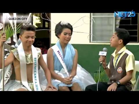 Students on the News – Metro Manila College Book Month