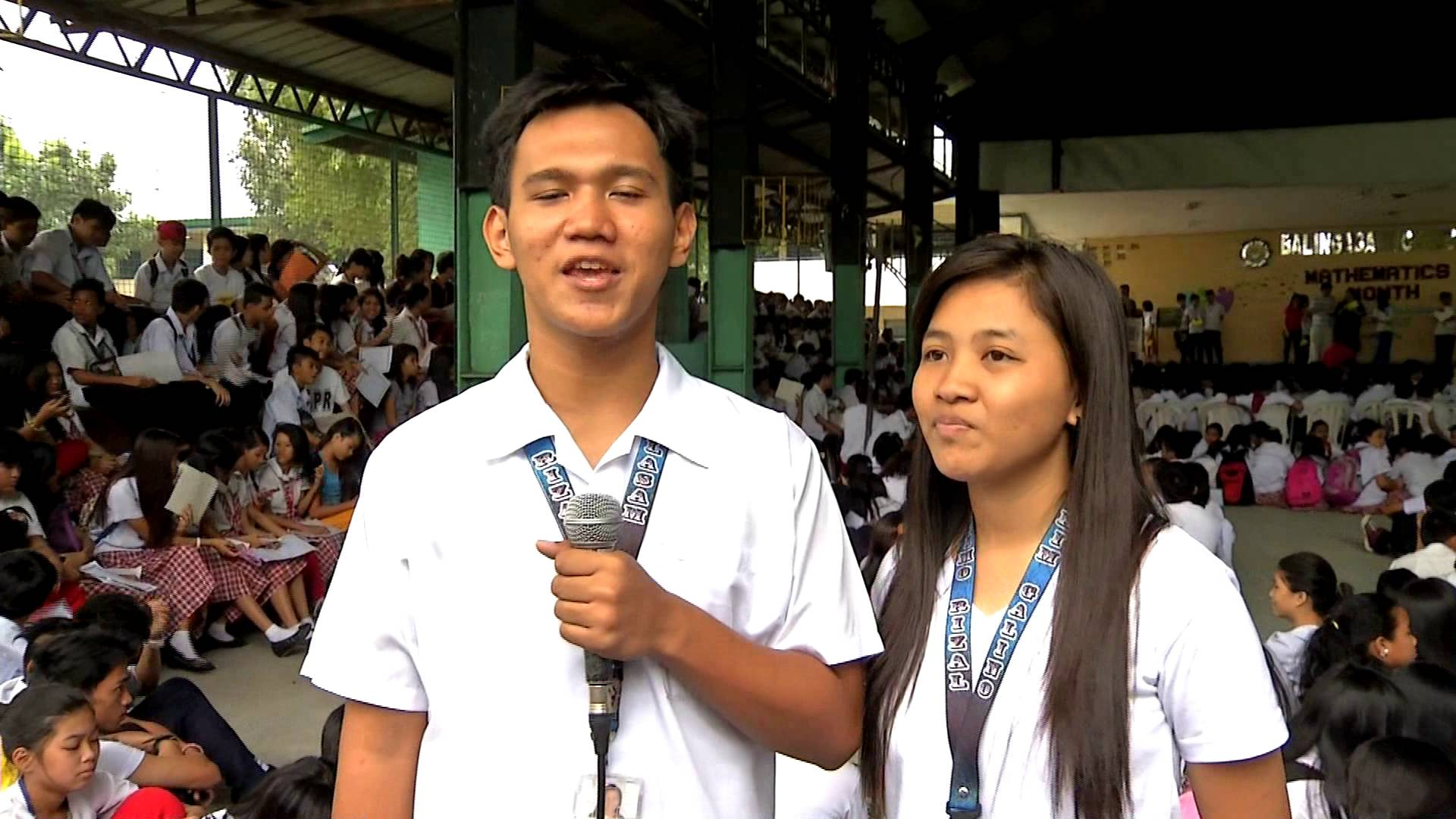 Students on the News – Balingasa High School Math Month