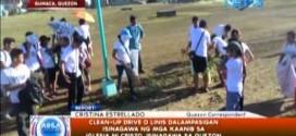 Iglesia Ni Cristo, nagsagawa ng clean up drive sa Quezon