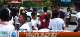 Mga kaanib ng Iglesia Ni Cristo lumahok sa Palaro ng Lahi sa Laguna