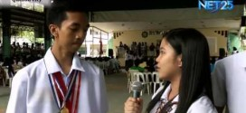 Students on the News – Balinghasa High School holds recognition day