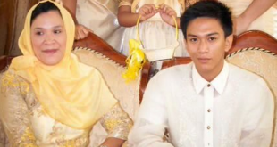 Norhata Dimakuta and her son Mohammad who was kidnapped in June 2013.  (Photo from Norhata Dimakuta)