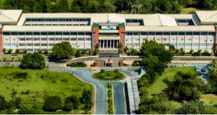 The New Era University main campus in Quezon City