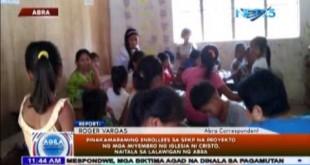 Pinakamaraming Enrollees sa SPKP na proyekto ng Iglesia Ni Cristo, naitala sa lalawigan ng Abra