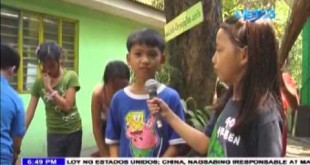 "Student On The News: ""Brigada Eskwela"" prepares schools for the opening of the school year"