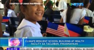 USAID inaugurates climate-resilient school in Leyte