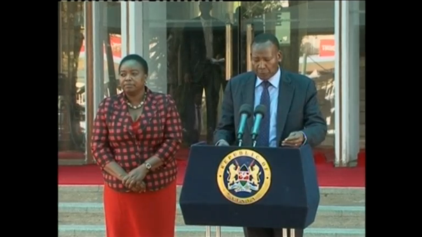 "Kenyan Minister demands an apology from Cable News Network (CNN) for referring to Kenya as ""hotbed of terror"". (A photo captured from Reuters video)"