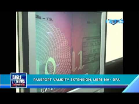 Extension of passport validity, now for free