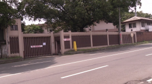 The Iglesia Ni Cristo property at #36 T. Sora Avenue, in Quezon City. The INC has asked the QC court to issue an injunction against unauthorized individuals from entering the compound. (Eagle News Service)