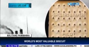 World's most valuable biscuit worth $23, 000