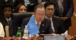 Ban Ki Moon calls for restraint on South China Sea dispute