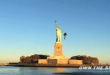 "JetPack Aviation, a company that says they have created ""world's only true jetpack"", releases a video showing its CEO David Mayman carrying out a flight around New York's Statue of Liberty. (Photo courtesy of own Sky)"
