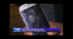My phone saved my life, Paris attack witness says