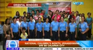 National Children's Month, ipinagdiwang din sa Calapan City