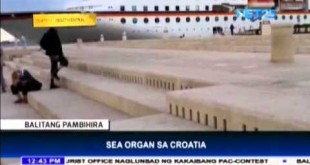 Sea Organ in Croatia