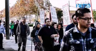 Group of former INC members ignored as they held rallies outside INC houses of worship in California