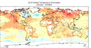 2015 to be warmest year on record: WMO