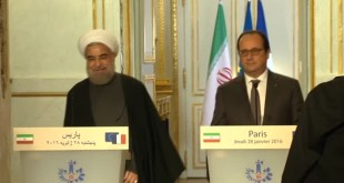 "Iran's Rouhani says ""terrorism"" main problem in Syria"