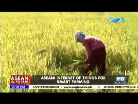 ASEAN: Internet of things for smart farming