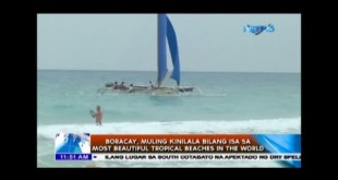 Boracay muling kinilala bilang isa sa Most Beautiful Tropical Beaches in the World