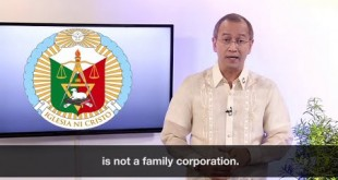 The Iglesia Ni Cristo is not a family corporation, but a religion, says INC's latest statement