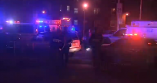 Two NY police officers shot, in stable condition