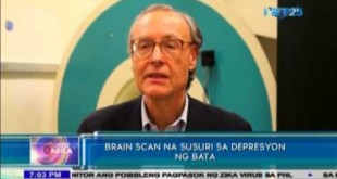 Brain scan detects depression during childhood