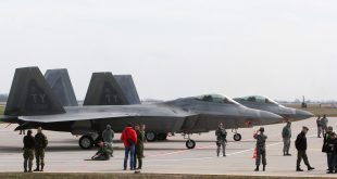 US F-22 fighter jets land in Lithuania amid Russia tensions