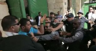Tension in Jerusalem's al-Aqsa, West Bank checkpoint