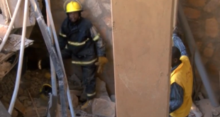 Six-storey building collapses in Uganda, at least one dead