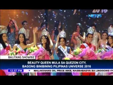Beauty queen from Quezon City crowned as new Binibining Pilipinas Universe