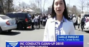 INC conducts clean up drive in Eastern Canada