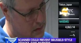 Scanner could prevent Brussels-style attacks, says inventor