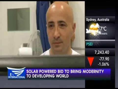 Device Uses Solar Power To Purify Water