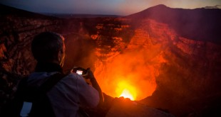 Lava-loving tourists flock to active Nicaragua volcano