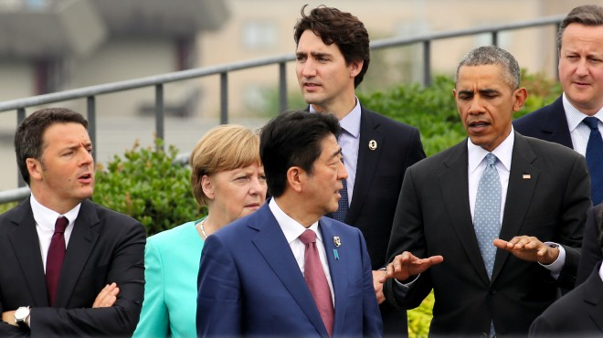 First day of G7 summit