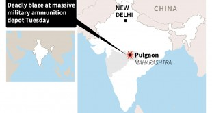 17 killed in India army ammunition depot fire: reports
