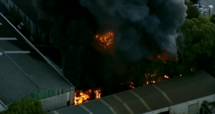 Over 100 firefighters needed to tackle Australian factory fire