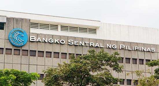 Facade of the Bangko Sentral ng Pilipinas (BSP) along East Avenue, Quezon City, October 27, 2014