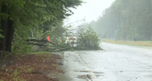 Tropical Storm Bonnie downgraded, but still causing trouble in Georgia